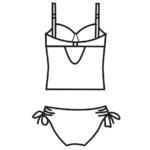 Merevítős bikini/102-674