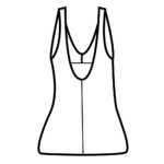Szivacskosaras fürdőruha/101-702