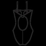 Szivacskosaras fürdőruha/101-446