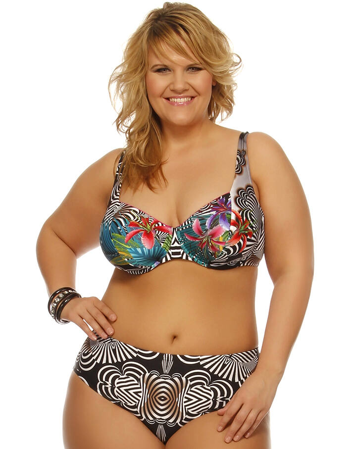 Merevítős,alakformáló bikini/102-386