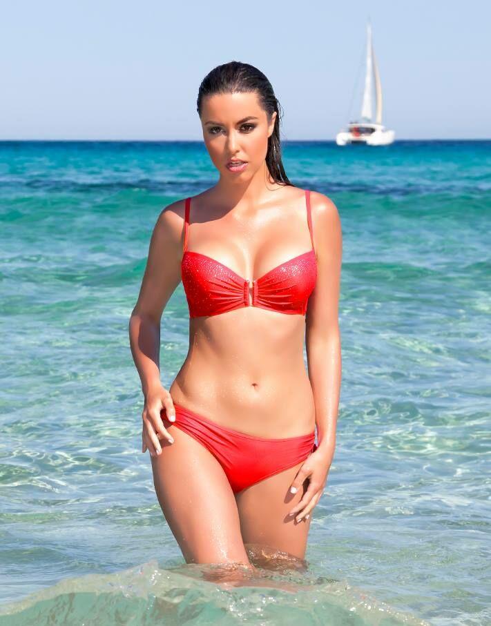 Malaga merevítős,szivacsos bikini/102-577
