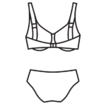 Plus size bikini H-kosárig/102-696/N