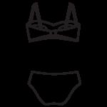 Pánt nélkül hordható bikini/102-595