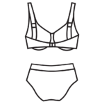 Merevítős bikini/102-683