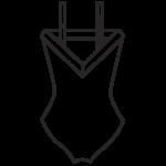 Szivacskosaras fürdőruha/101-687