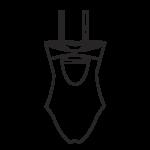 Pánt nélkül hordható fürdőruha/101-434