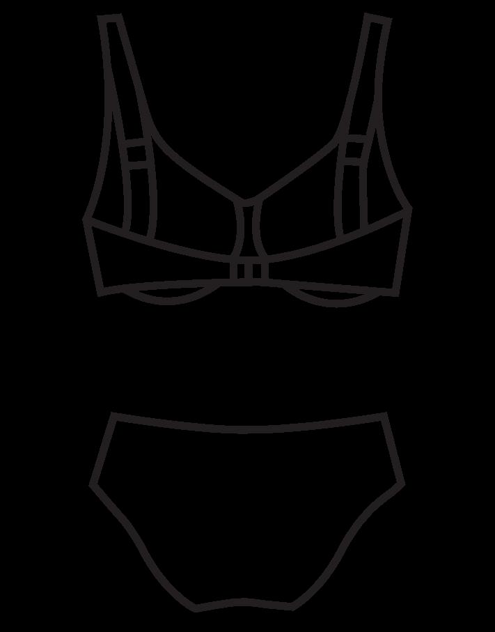 8785a4df7d Merevítős bikini/102-347 - 2019 - Bahama Collection