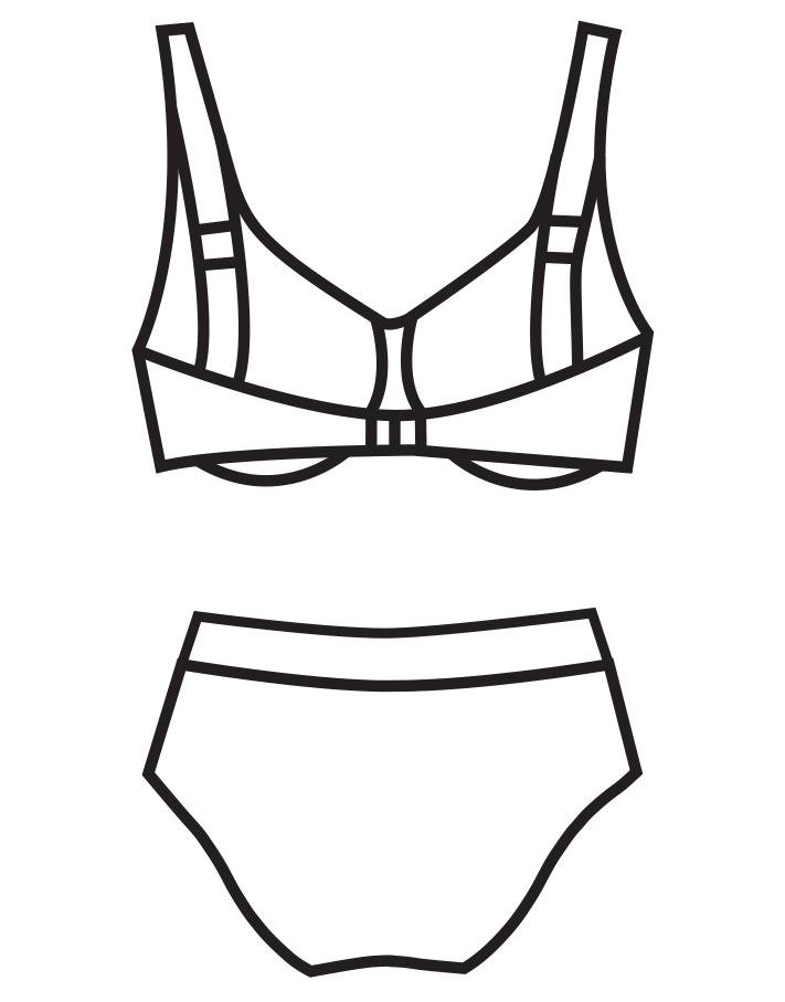 Merevítős bikini 102-683 - 2017 - Bahama Collection ace3db0f86